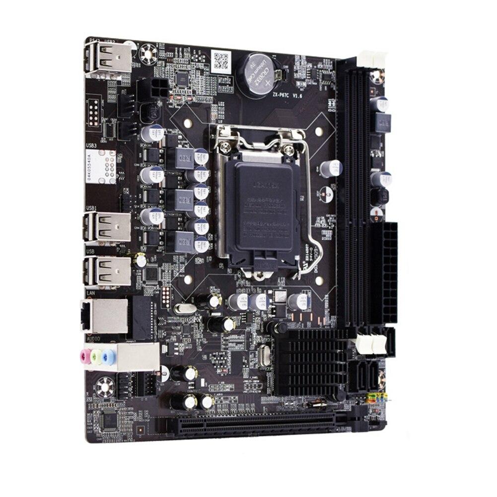 P67 carte mère LGA 1155 DDR3 16G 1600 1333 mémoire Pci E double canal LGA1155 carte mère prend en charge la série I3 I5 I7 Xeon Pentium