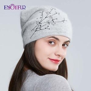 Image 2 - Réjouyfur bonnet tricoté en strass