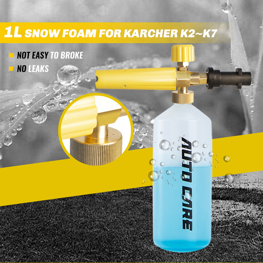 High Pressure Soap Foamer Sprayer Foam Generator Foam Gun Snow Foam Lance For Karcher K2 K3 K4 K5 K6 K7 Car Washer Auto Accessor