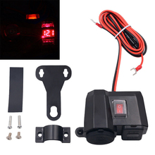 Voltmeter Power-Adapter-Socket Car-Accessories Usb-Charger Motorcycle Waterproof 12v/24v