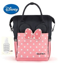 Disney Bag USB Large Capacity Heating Diaper Heat Preservation Nappy Backpack Toddler Nursing Travel