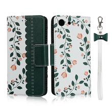 Magnetic Cute flower Case for Sony Xperia XZS XA3 XZ4 Compact XZ4 Wallet PU Leather Flip Stand Case for Xperia XZ Premium Coques case for sony xperia l1 x xa ultra case wallet leather cover for sony xperia xz xr xz1 xz premium compact business style case
