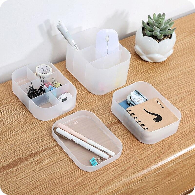Multi-functional Skin Care Product Remote Control Cosmetics Jewelry Earrings Storage Box Make Up Cosmetics Organizer Storage Box