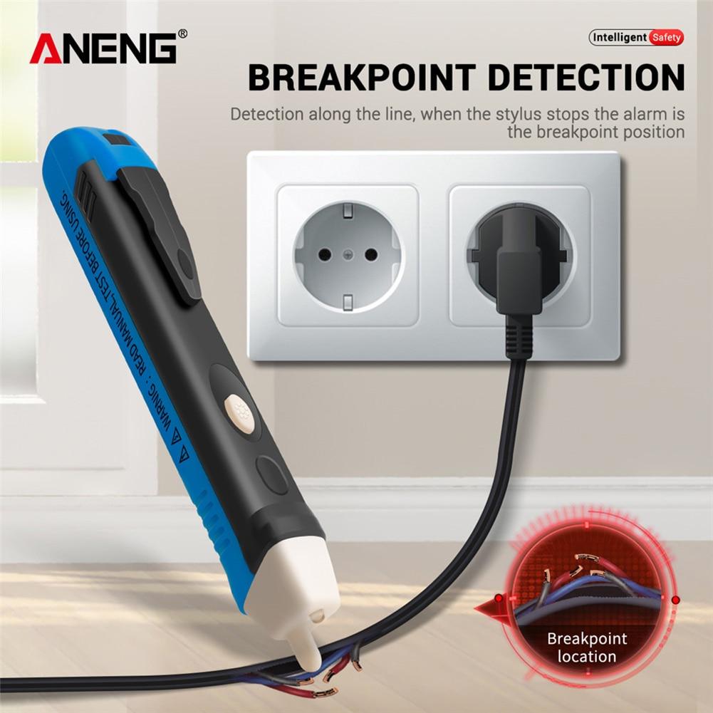 Lápiz voltímetro detector medidor de voltios, potencia sin contacto AC110V 220V