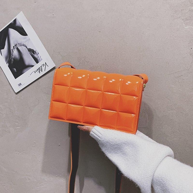Повседневная Компактная сумка через плечо для женщин, сумки на плечо, новинка 2021, дизайнерская сумка из мягкой искусственной кожи, модная су...