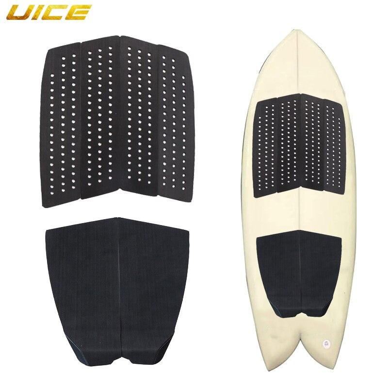 6 pièces Surf Deck tapis de Traction Premium EVA avec queue Kicker 3M adhésif pour planche de Surf