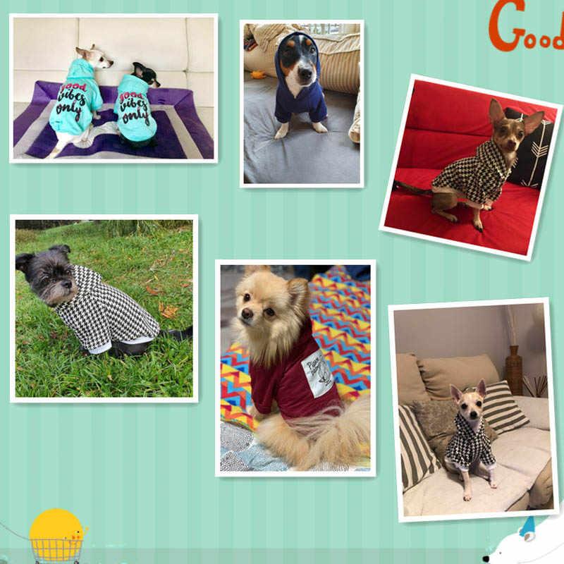 Addensare Vestiti Del Cane di Inverno del Cucciolo Del Cane di Modo del Costume Pet Abbigliamento Per Cani di Piccola Taglia Media Con Cappuccio Cappotto Caldo del Gatto Cani Costume york