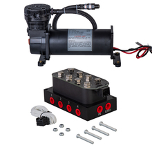 Solenoid-Valve Air-Suspension 480c Compressor/Pump And 12V Car-Accessories OUTLET 200-Psi