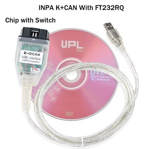 Image 5 - Best Price for BMW INPA K+CAN K CAN INPA With FT232RQ Chip INPA K DCAN USB Interface Full Diagnostic For BMW From 1998 To 2008