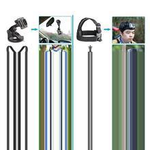 Набор аксессуаров для экшн-камеры 50 в 1, черный комплект для крепления на груди для GoPro