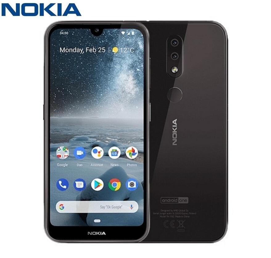 Nokia 4.2 4G Smartphone 5.71 pouces Android 9 Pie Snapdragon 439 Octa Core 3GB RAM 32GB ROM 13.0MP + 2.0MP 3000mAh téléphones portables