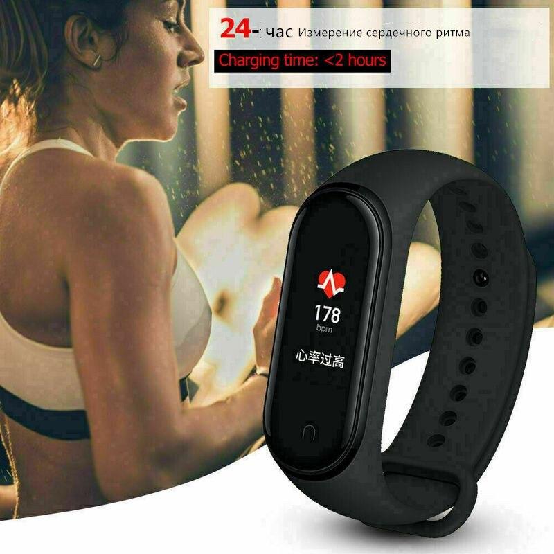 Bracelet Wrist-Strap Watch Silicone Mi-Band 4-Watch Xiaomi for 3