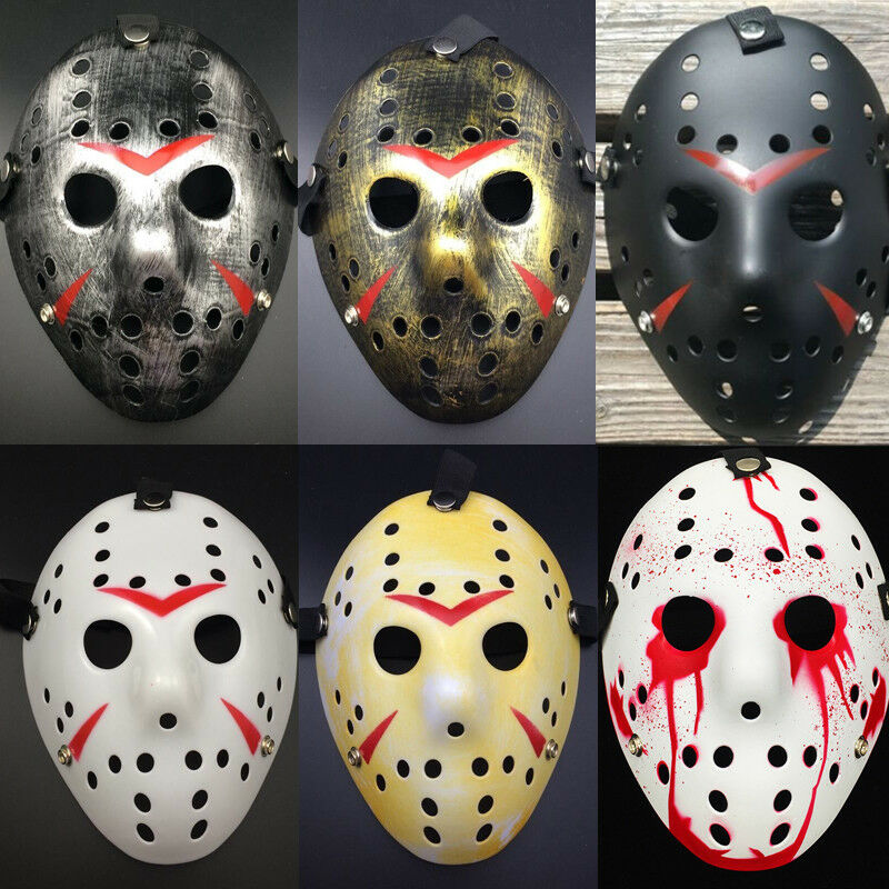 USA Jason Voorhees Friday The 13th Horror Movie Hockey Mask Scary Halloween Mask