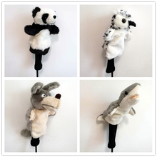Golf-Club-Head-Covers Fairway-Woods Cute for Men Women Gift Cartoon-Animals Multi-Style