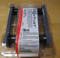 Evolis R5F008S140 cassete de fita YMCKO 300 impressões 5 painéis compatível para R5F008S14 Zenius Primazia Elypso