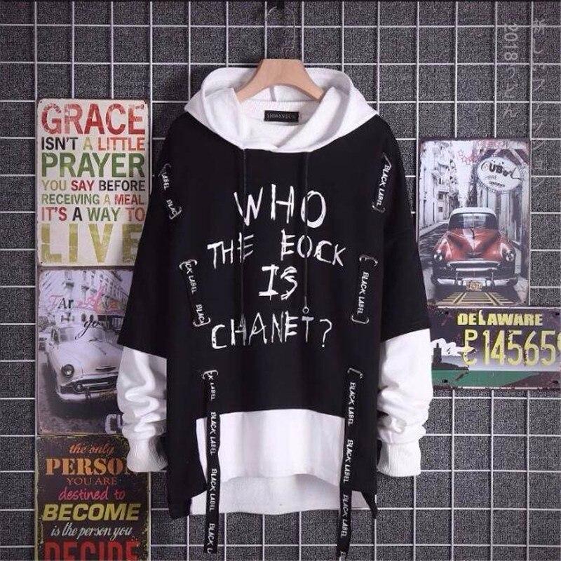 TongT Winter Hoodies Unisex Sweatshirts Fleece Anime Senpai Print Streetwear Funny Pullover Hoody Clothes