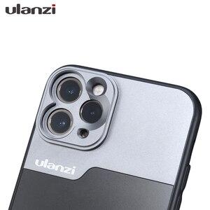 Image 5 - 울란지 17MM 폰 렌즈 폰 케이스, iPhone 11/11 Pro/11 Pro Max 아나모픽 렌즈, 17MM 순간 렌즈 용 Ulanzi DOF 렌즈 어댑터
