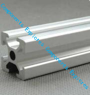 415mm 2020 Silvery Al Profiles For HyperCube Evolution 3D Printed Parts Silvery Color,2pcs/lot