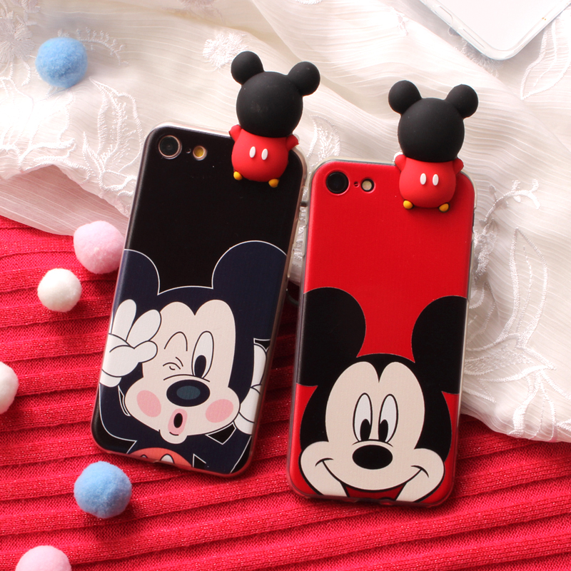 3D Doll Mobile Phone Case For <font><b>Huawei</b></font> Honor 4 Ascend <font><b>G620S</b></font> 4C Y6 6s Pro Enjoy 5 5X Play 4X 5C GR5 6 Plus 6A 6C Housing Cover image
