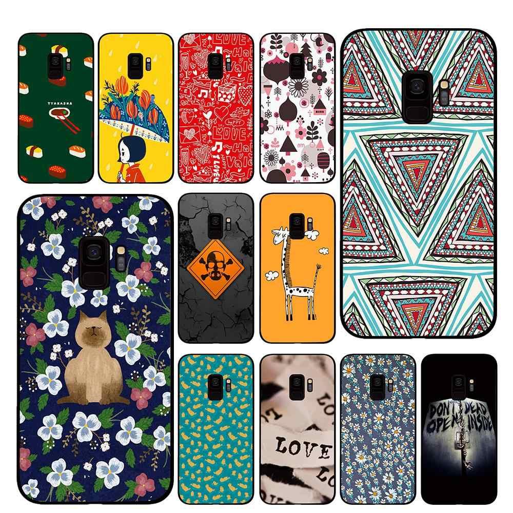 Giraffe Wallpaper For Samsung Galaxy S10 S10e S8 Plus S6 S7 Edge S9 S10e Plus Note 8 9 Phone Cases Half Wrapped Cases Aliexpress