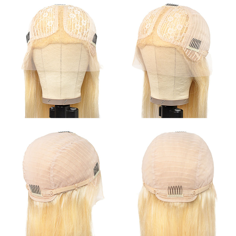 Bone Straight  Wig 613 Straight bob 30 Inch Honey Blonde Lace Front Wigs   Hd Lace Frontal Wig 6