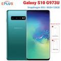 New Original T-Mobile Version Samsung Galaxy S10 G973U 8GB 128GB Mobile Phone Snapdragon 855 6.1 4 Camera Android 9.0 4G phone