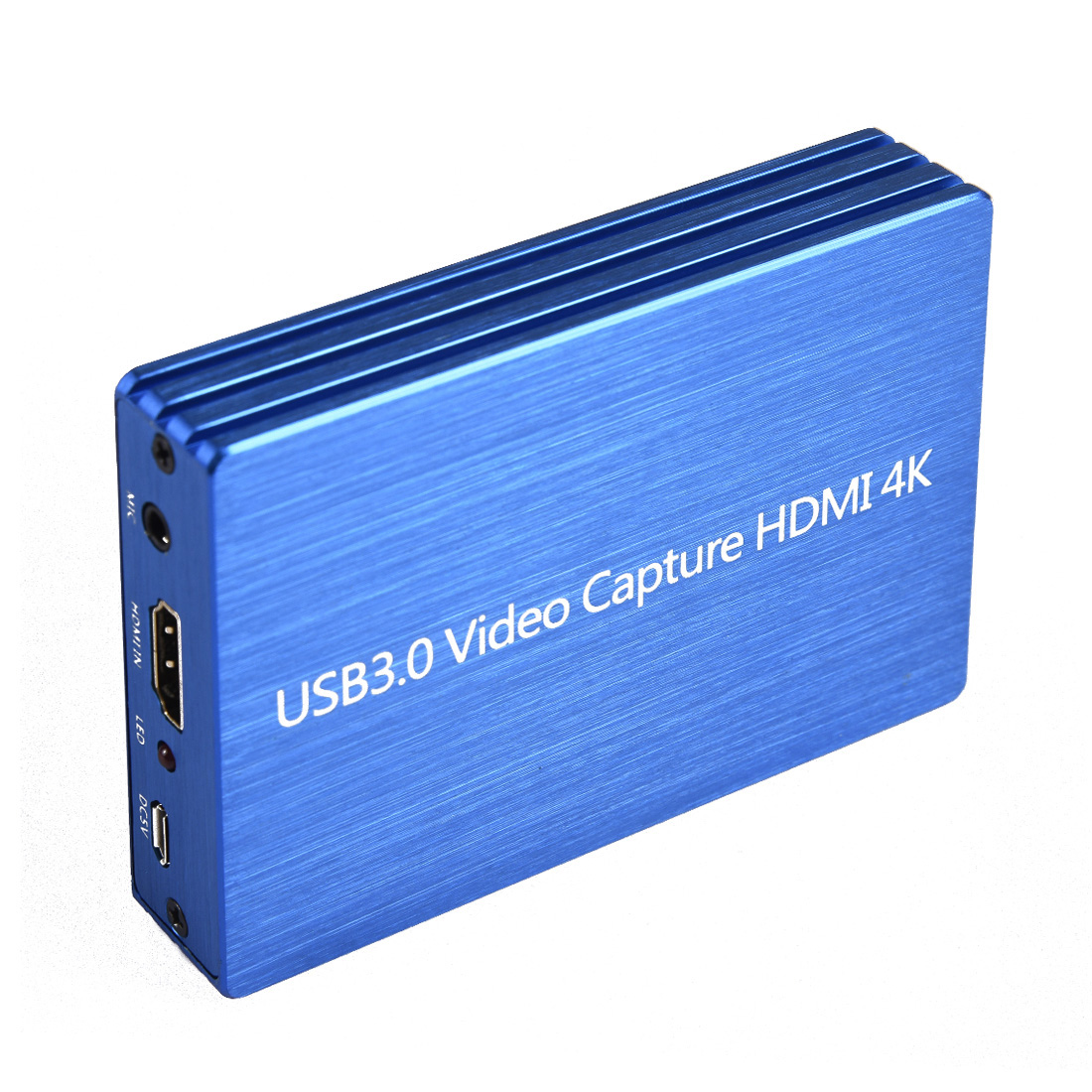 Capture Card 4K HDMI to USB 3.0 Video Capture Card Adapter Dongle 1080P 60fps HD Video Recorder Computer Components and Hardware