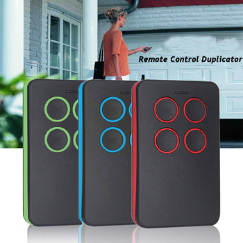 Garage Door Remote Control 433.92mhz gate control rolling code remote control duplicator clone Garage Command Opener the best somfy 433 42mhz remote control duplicator somfy rts garage door opener controle somfy gate opener handheld transmitter