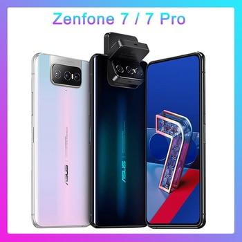 Перейти на Алиэкспресс и купить ASUS Zenfone 7 Pro глобальная Версия 8 ГБ ОЗУ 256 Гб ПЗУ Snapdragon 865/865Plus 5000 мАч NFC Android Q 90 Гц 5G смартфон