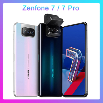 Купить ASUS Zenfone 7 Pro глобальная Версия 8 ГБ ОЗУ 256 Гб ПЗУ Snapdragon 865/865Plus 5000 мАч NFC Android Q 90 Гц 5G смартфон