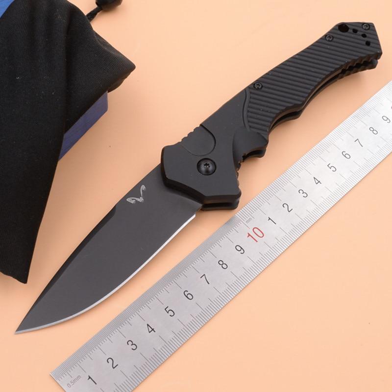 Jufule nova marca 9600bk s30v lâmina de alumínio alça dobrável caça acampamento bolso sobrevivência ao ar livre ferramenta edc faca cozinha tática