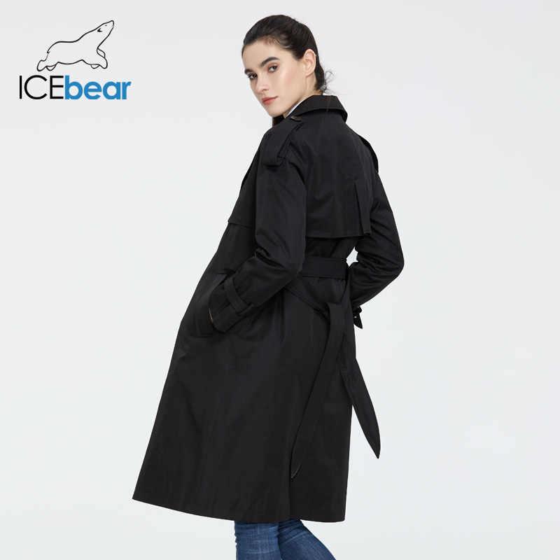 ICEbear 2020 여성용 봄용 윈드 브레이커 고품질 여성용 후드 티 패션 여성 의류 브랜드 의류 GWF20029D