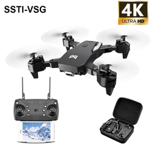 FPV mini drone 4K with dual camera hd quadcopter gesture control 50X zoom RC dro