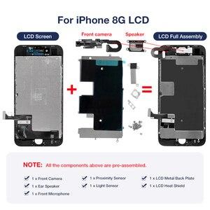 Image 3 - ЖК дисплей для iPhone 7 8 Plus OEM, полная сборка, дигитайзер, Замена с 3D Touch 100% протестирован, без битых пикселей
