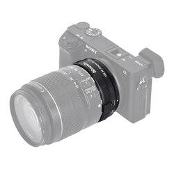 Commlite CM-EF-E HS szybciej obiektyw z automatyczną regulacją ostrości adapter do canona EF/EF-S obiektyw do sony E-do montażu kamery A9 A7RIII A7 A6000 A6300 A6500