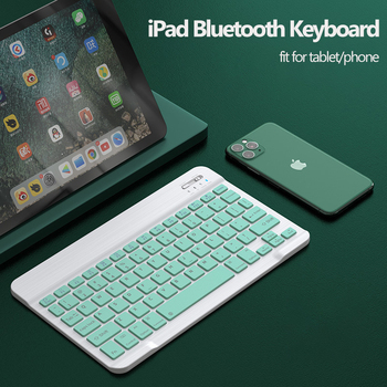 Bluetooth Keyboard and Mouse for Tablet Phone Universal 10 inch Keyboard for Samsung S6 for iPad Pro Air 4 Keyboard 2.4G Mouse 1