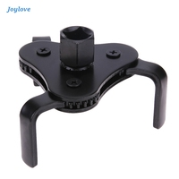 JOYLOVE Alloy 3 Jaw Oil Filter Wrench Tool For Car Adjustable Oil Filter Wrench Two Way Oil Filter Key Auto Repairing 53-108mm