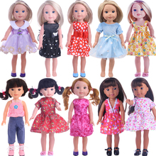 Doll-Dress Doll-Clothes-Accessories Elements Wellie Wisher Paola Reina New-Fashion