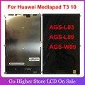 Для Huawei Mediapad T3 10 AGS-L03 AGS-L09 AGS-W09 ЖК-дисплей модуль экрана запасная часть + Инструменты