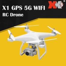 WLtoys XK X1 GPS 5G WIFI 1080P HD Camera RC Drone Quatro-Eixo Aeronaves Multirotor Vôo Quadcoptor com Modo Headless Me Acompanha de Perto