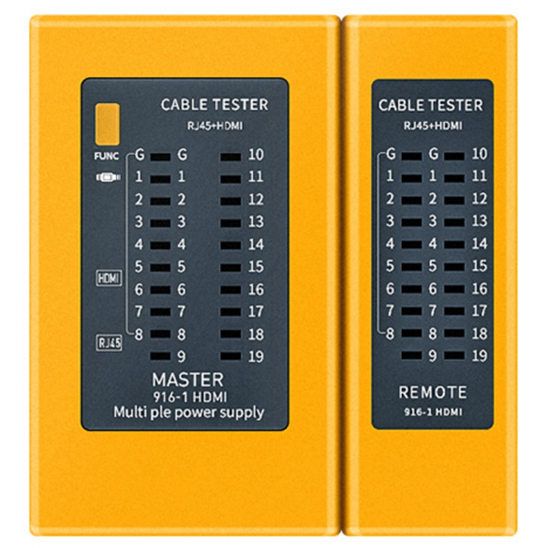 Rastreador portátil do verificador do cabo rj45 do verificador do cabo de digitas de alta definição de hdmi