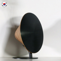Remax Wireless Speaker Bluetooth Retro Wood Desktop Support NFC Touch Surface Subwoofer Home Audio For Phone Bookshelf for Phone