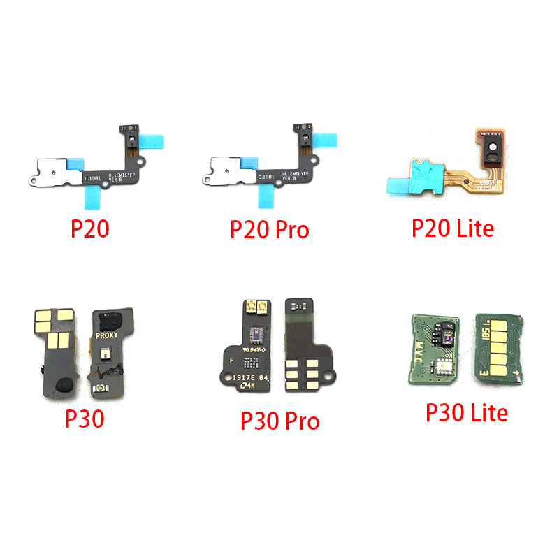 Proximity Light Sensor Flex Cable Distance Sensing Connector For Huawei P9 P10 Plus P20 P30 Lite Pro