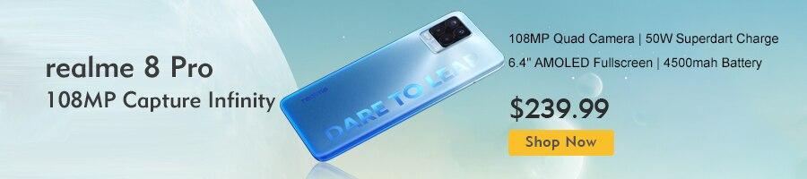 Realme GT 5G 6.43''AMOLED Display Snapdragon 888 5G 64MP 4500mAh Mobile Phone