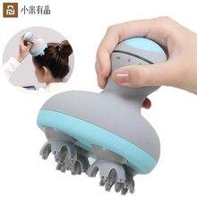 Youpin MINI głowa do masażu 3D stereo masaż dwukierunkowy surround cztery koła obrót 6 rodzajów masażu ręczne narzędzie do masażu