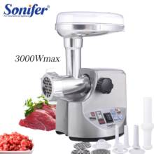 3000 Вт высокой мощности домшаняя кухонная утварь из электрическая мясорубка колбаса машина мясорубка тяжелых домашняя Мясорубка Sonifer