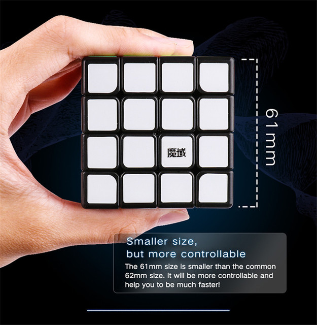 MoYu Aosu GTS2M Magic Magnetic Speed Cube 4x4x4 Stickerless Professional Magnets GTS2 M 4×4 Puzzle Cube Educational Toys