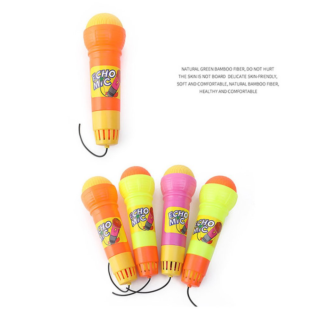 Echo Microphone Mic Voice Changer Toy Gift Birthday Present Kids Party SongODFSM