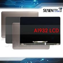 Gouzi peças do portátil tela lcd novo a1932 para macbook ar retina 13.3 polegada 2018 2019 ano emc3184 mre82 display lcd monitor