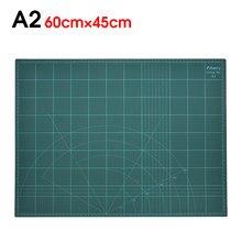 Tapete de corte A2 multifunción de gran tamaño de PVC, autocicatrizante, tabla de corte, cuchilla para cortadora de papel, escultura, A2, herramientas de manualidades DIY